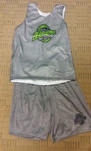 vegas ballers basketball club jersey and shorts