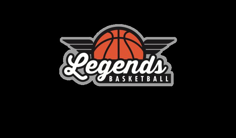 legends basketball logo color